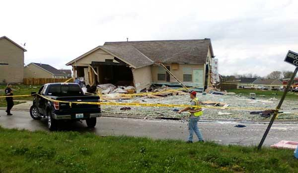 Brook Chase House After Tornado