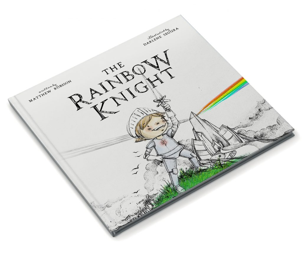 Book cover for The Rainbow Knight